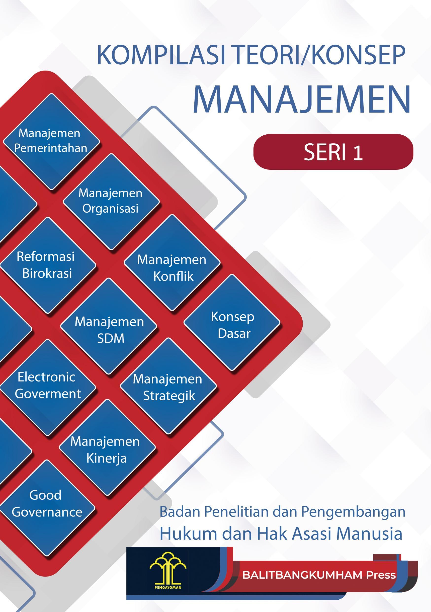 Kompilasi Teori/Konsep Manajemen Seri 1
