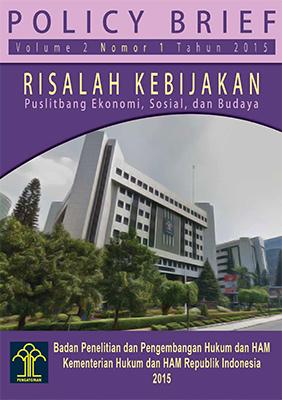 Risalah Kebijakan Pusat Litbang Hak-hak Ekonomi, Sosial dan Budaya