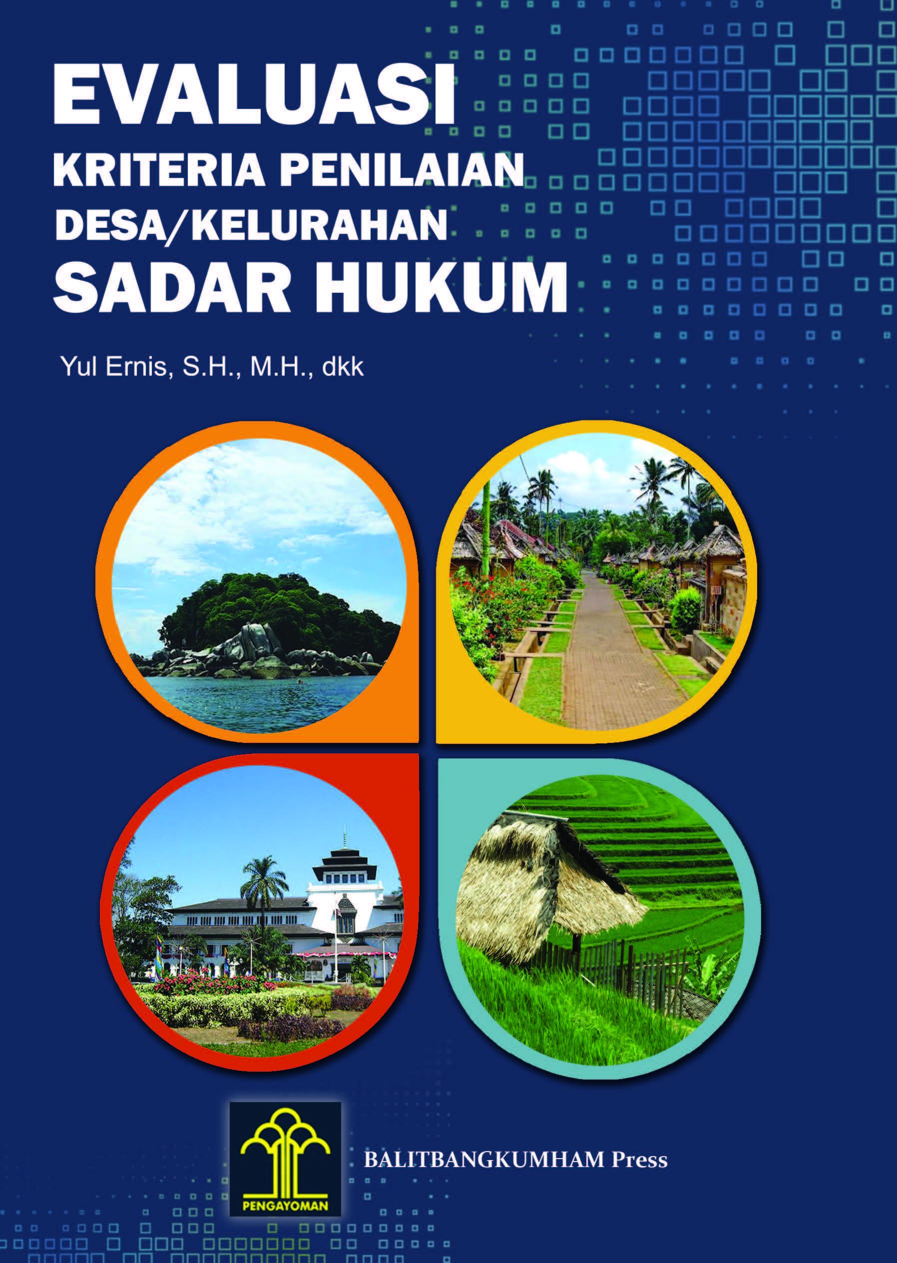 Evaluasi Kriteria Penilaian Desa/Kelurahan Sadar Hukum